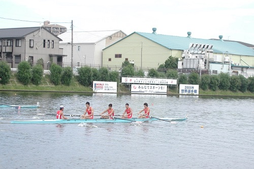 第59回国民体育大会『彩の国まごころ国体』成年男子 舵手つきフォア