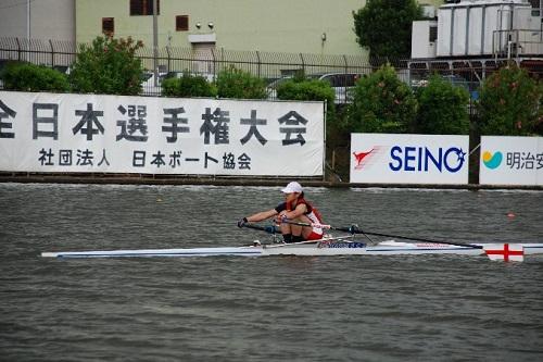 第85回全日本選手権大会女子 シングルスカル