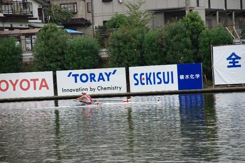 第86回全日本選手権大会女子 シングルスカル