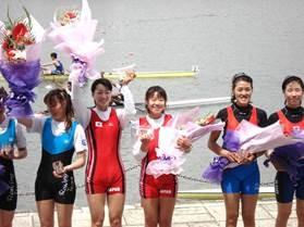 オリンピックアジア大陸予選女子 軽量級ダブルスカル