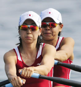 北京オリンピック女子 軽量級ダブルスカル