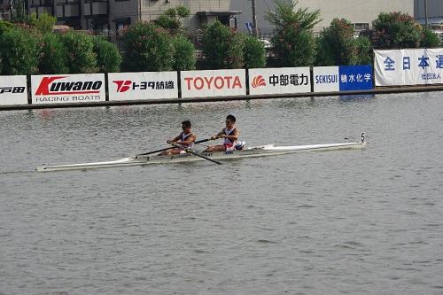 第88回全日本選手権大会男子 舵手つきペア
