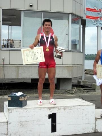 第61回全日本社会人選手権大会男子 シングルスカル