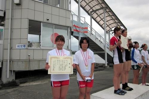 第61回全日本社会人選手権大会女子 ダブルスカル
