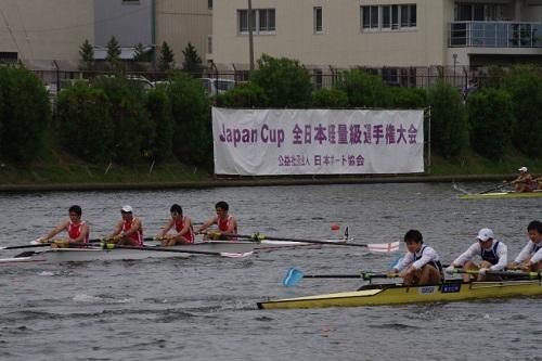 第37回全日本軽量級選手権大会男子 舵手なしフォア