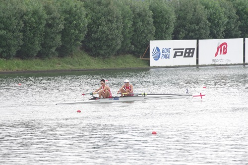第93回全日本選手権大会男子 舵手なしペア