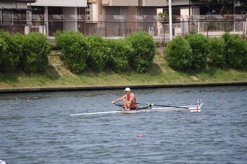 第67回全日本社会人選手権大会男子 シングルスカル