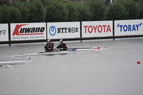 第95回全日本選手権大会男子 舵手なしペア