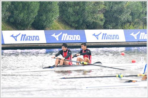 第95回全日本選手権男子舵手なしペア準決勝
