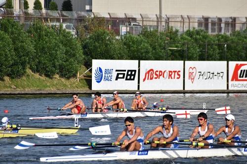 第96回全日本選手権大会男子 舵手つきフォア