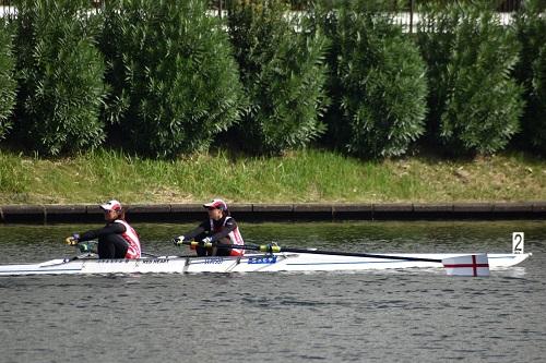 第96回全日本選手権大会女子 舵手なしペア