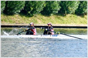第96回全日本選手権女子舵手なしペア決勝
