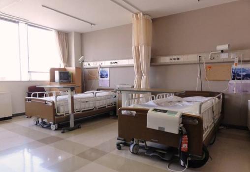 病室の様子1